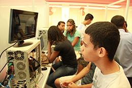 Laboratório do Curso de Hardware em Bonsucesso
