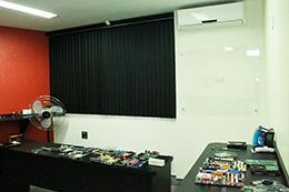 Laboratório do Curso de Hardware em Nova Iguaçu