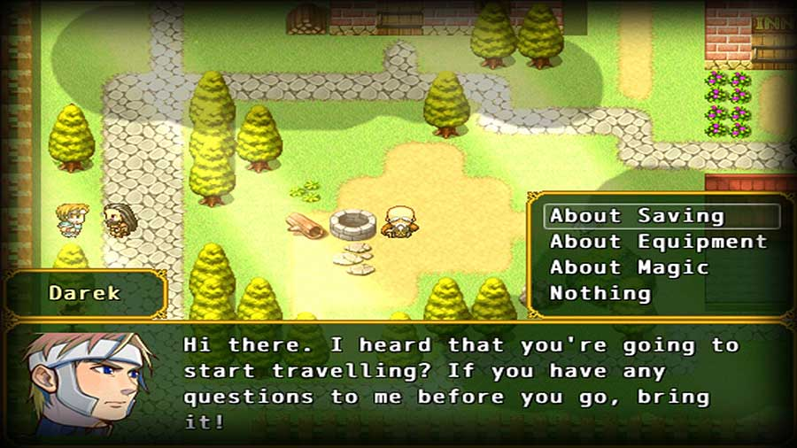 Labyronia é um RPG inspirado por Chrono Trigger, Final Fantasy VI e a série Dragon Quest.