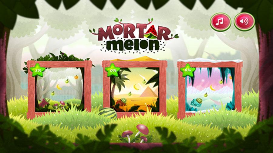 Mortar Melon é um fruit shooter criado com Construct 2 para Wii U e Xbox One.