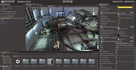 Interface da Game Engine