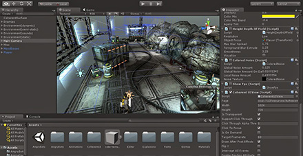 Interface da Game Engine