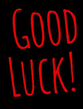 Good Luck! Boa sorte no seu teste de inglês online!